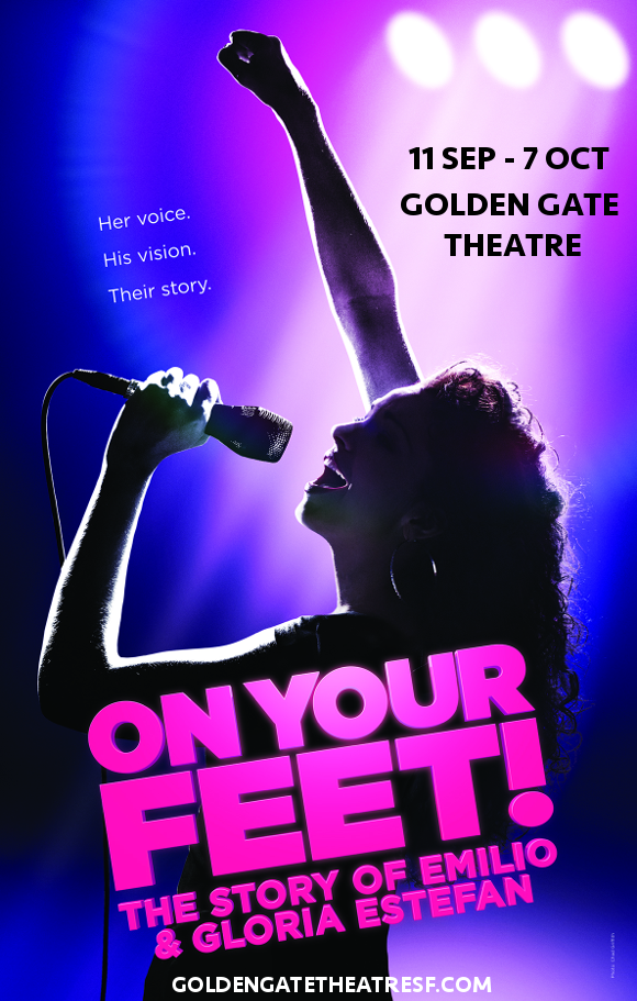 on your feet golden gate theater san fransisco broadway musical