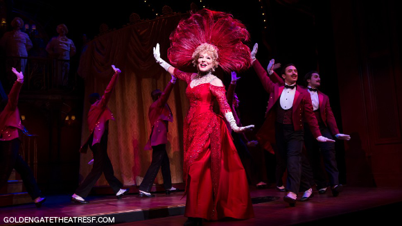 hello dolly on stage theater