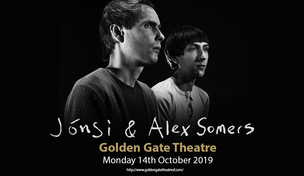 Jonsi Birgisson & Alex Somers at Golden Gate Theatre