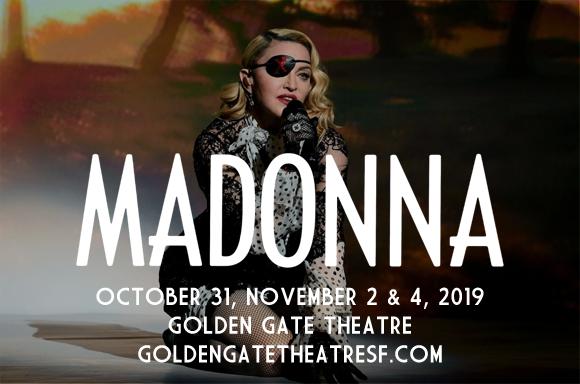 Madonna at Golden Gate Theatre