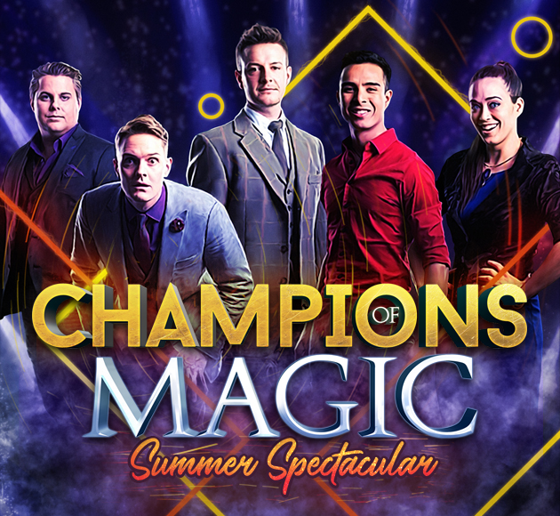Champions Of Magic at Golden Gate Theatre