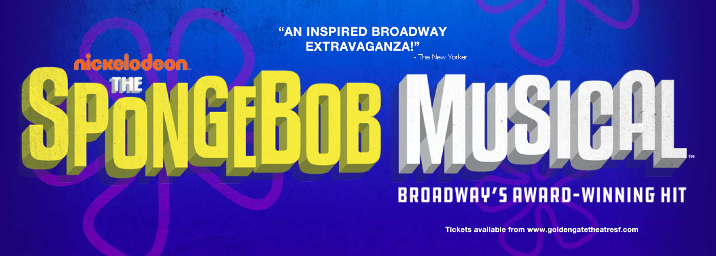 SpongeBob The Musical golden gate theatre