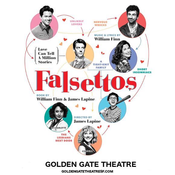 falsettos golden gate theatre