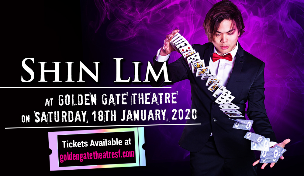 Shin Lim at Golden Gate Theatre