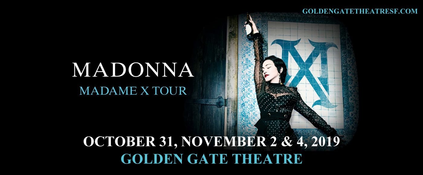 Madonna at Golden Gate Theatre