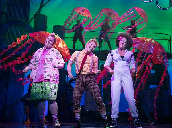 Spongebob - The Musical at Golden Gate Theatre